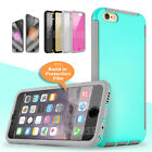 For Apple Iphone 5 6s Protective Case Cover With Clear Built In Screen Protector