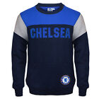 Chelsea FC Official Soccer Gift Boys Crest Sweatshirt Top