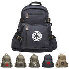 Star Wars Galactic Empire Army Sport Heavyweight Canvas Backpack Bag $51.97 USD