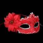 Chic Party Halloween Masquerade Props Fancy Dress Mask Plastic Lace Canvas Mask
