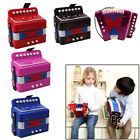 Kids Children 7-Key 2 Bass Small Accordion Educational Rhythm Band Toy New