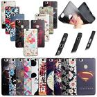 """For Huawei Honor Note 8 6.6"""" 3D Emboss Soft TPU Cover Case Tower Flower Luxury"""