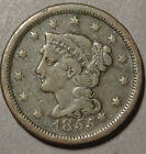 1855,    One cent,    United States,    This coin for your collection ?