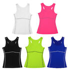 New Women Sports Yoga Running GYM Fitness Compression Tight Vests/Tops/Blouse
