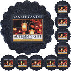 10 YANKEE CANDLE WAX TARTS Autumn Night NEW 2016 MELTS fresh scented