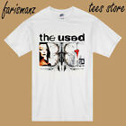 New The Used 15th Anniversary Tour 2016 Men's White T-Shirt Size S-3XL