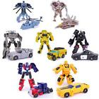 Mini Classic Transformation Plastic Robot Cars Action & Toy Figures