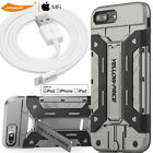 3m Lightning Charging Cord &Stand Case Cover&Full Cover Glass Screen iPhone 7/6+