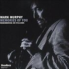 Memories of You Mark Murphy Audio CD