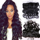 7A Grade Virgin Human Hair Unprocessed Lace Frontal 13*4 with Baby Hair 12-20''
