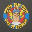 Hank Hill / Casey Jones lyric tee shirt - Grateful Dead and Co deadhead King of