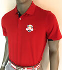 (RYD-RD) 2016 RLX Ralph Lauren US Ryder Cup Active-Fit Polo (RED)