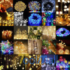 30/50/100 LED String Copper Wire Fairy Lights Battery Powered Waterproof+Remote