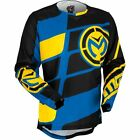 Moose Racing 2017 Blue Yellow YOUTH S7 MX Motocross Jersey