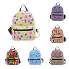 New Women's Canvas Travel Satchel Shoulder Bag Backpack School Rucksack CXF