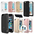 For iPhone 5/5S/SE/6/6S/7 Plus External Battery Charger Case Power Bank Pack