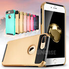 Hybrid Silicone Rubber Plastic Protective Case Cover for Apple iPhone 7 / 7 Plus