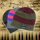 Outdoor Beanie Warm Wireless Bluetooth Smart Cap Headset Headphone Hat