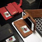 Leather Removable Money Purse Magnetic Flip Card Case Cover for iPhone 7Plus New