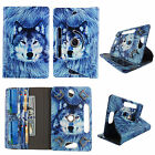 "TABLET STAND FOR 10 INCH 10"" ROTATE FOLIO PU LEATHER CASE COVER CARD CASH SLOTS"