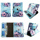 TABLET CASE FOR 10 INCH 360 ROTATE FOLIO PU LEATHER COVER CARD CASH SLOTS STAND