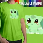 pokemon yellow bulbasaur - Baby Bulbasaur Starter Pokemon Cute Nintendo Funny Mens Tee Crew Neck T-Shirt