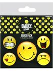 Smiley World Badge Packung Emoticons