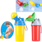 500ML Cute Baby Girl Boy Portable Urinal Travel Car Toilet Kids Vehicular Potty image