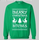 Ugly christmas sweater t-shirt merry xmas bitch contest Adults, Youth Sweatshirt