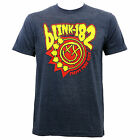 Authentic BLINK-182 Band Creatures Slim-Fit T-Shirt Heather Navy S M L XL NEW