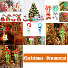 Christmas Tree Hanging Decor Parachute Snowman Santa Claus Xmas Party Ornaments