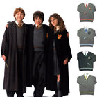 Harry Potter Gryffinder Slytherion Hufflepuff Cardigan Fancy Cosplay Sweater