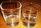 """Jack Daniels Old No 7 """"Square"""" or Round Glass Tumbler"""