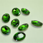 Oval Rhinestones Point back Crystal Glass Chaton Strass Beads Stones