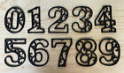 Antique-Style Cast Iron Scroll Number 0-9 for Address Street House DIY Numbers