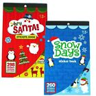 CHRISTMAS STICKER BOOK - Over 250 Stickers - Ages 3+ {Playwrite} (Art/Xmas)