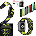 New Replacement Silicone Sport Band Bracelet iWatch Strap For Apple Watch 2&1