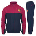 FC Barcelona Official Football Gift Mens Jacket & Pants Tracksuit Set
