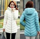 4 colors fashion women warm cotton clothes coat winter new hooded down slim coat