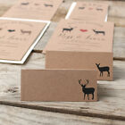 Modern Stag Place Cards x 50