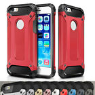2016 Red Rugged Dual Layer Armor Protective Case Cover Skin For Various Phones