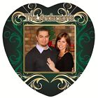 "Heart Shaped Ceramic Photo Tile ""FANCY"" Personalized CHRISTMAS GIFT Handmade"