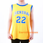 Quincy McCall Stitched Jersey Crenshaw High School Love and Basketball Movie