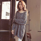 OVERSIZE Womens Baggy Sweaterer Knitted Slouchy Chunky Knit Top Cardigan
