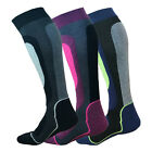 2 Pairs Women Girl Lady Winter Ski Snowboard Snow Riding Thermal Soft Long Socks