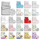BABY BEDDING SET PILLOWCASE DUVET COVER 2PC TO FIT COT COTBED 120x90 135x100
