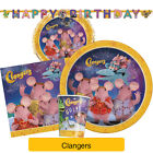 CLANGERS Birthday Party Range (Tableware Balloons Banners & Decorations)