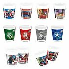 8 PLASTIC CUPS (200ml) Licensed MARVEL Characters (Party/Birthday/Tableware)