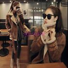 2016 Womens Winter Warm Slim Stand Collar Long Sleeve Cotton Padded Coat Jackets