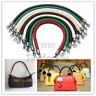 1/2PCS PU Leather Round Braided Purse Shoulder Bag Handbag Strap Replacement